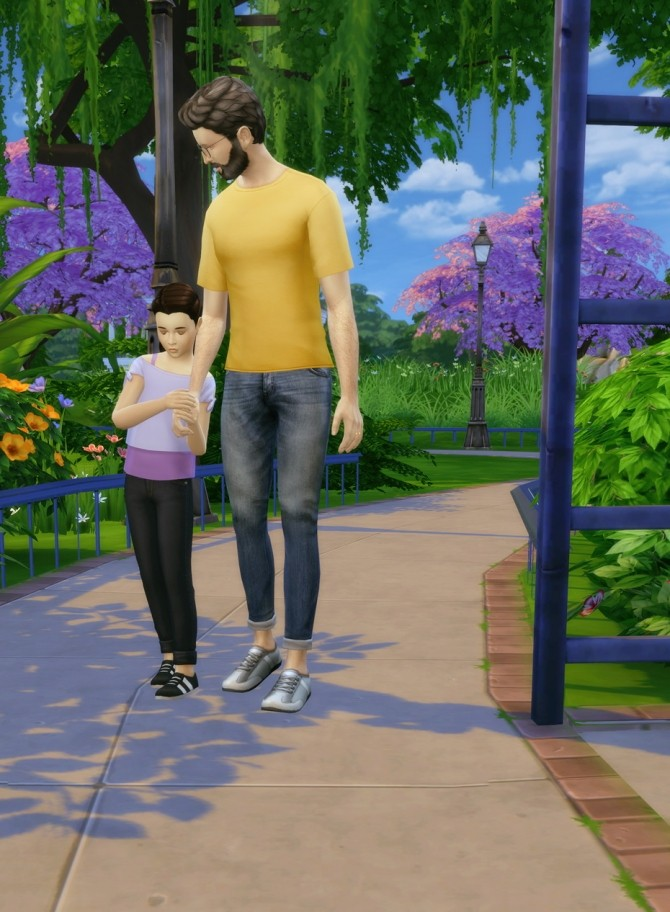 Stand Still in CAS (Shimrod101 & Shooksims) Mod - Sims 4