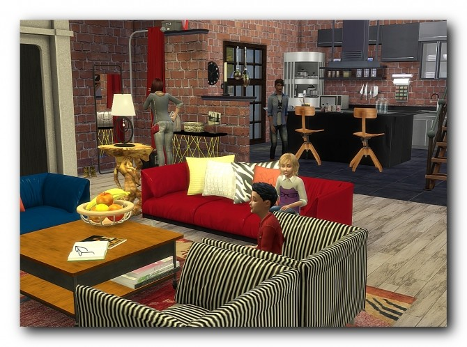 Sims 4 Esfalt Ebodz house at Architectural tricks from Dalila