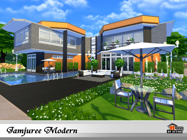 Jamjuree Modern by autaki at TSR image 1326 Sims 4 Updates