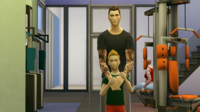 Family poses at Rusty Nail image 13414 670x377 Sims 4 Updates