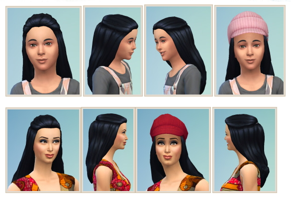 School and College Hair at Birksches Sims Blog image 1357 Sims 4 Updates