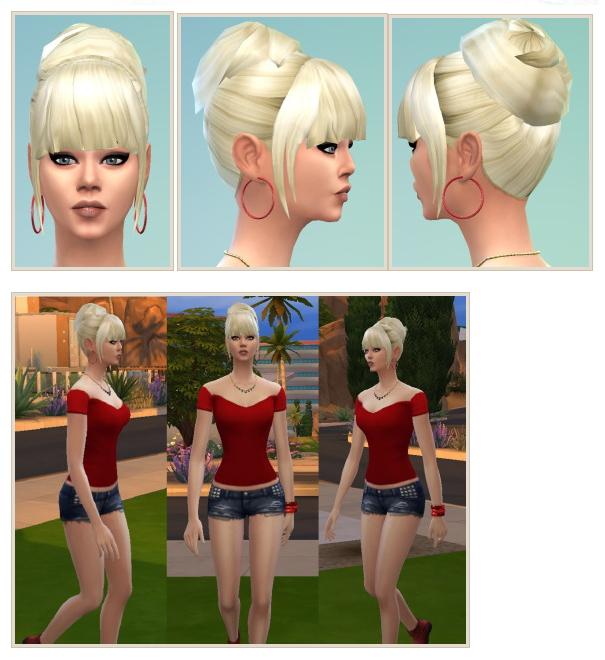 Sims 4 Bijou Hair at Birksches Sims Blog