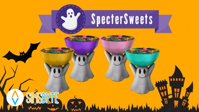 Sims 4 Specter Sweets at Sims Byte