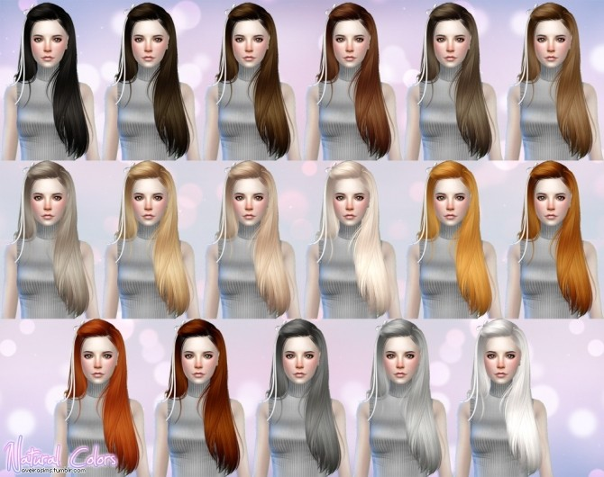 Butterflysims Hair 099 retexture at Aveira Sims 4 image 1384 670x530 Sims 4 Updates