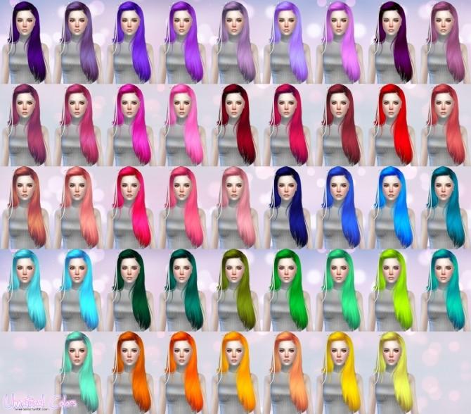 Butterflysims Hair 099 retexture at Aveira Sims 4 image 1394 670x588 Sims 4 Updates