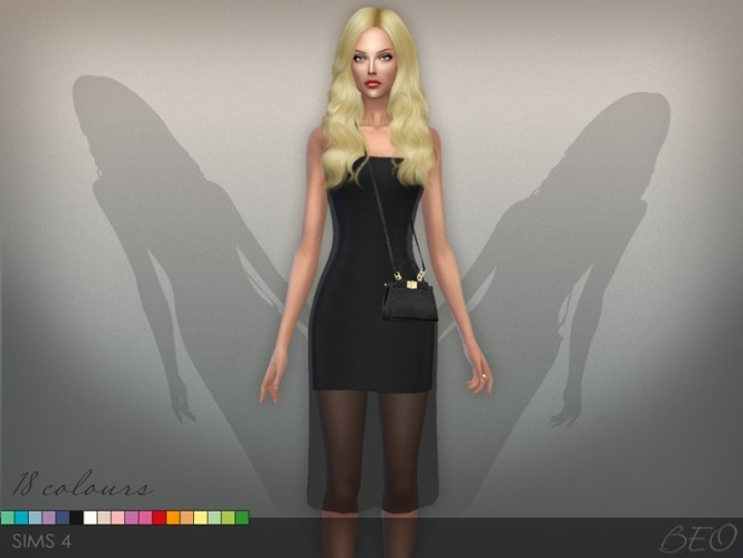 Sims 4 DRESS S09 02 at BEO Creations