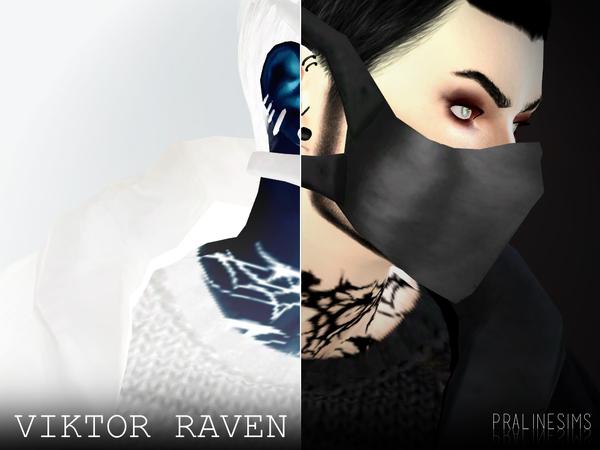 Sims 4 Viktor Raven by Pralinesims at TSR