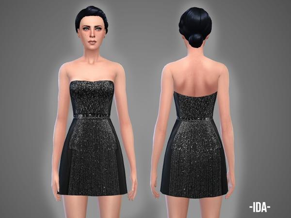 Sims 4 Ida dress by April at TSR