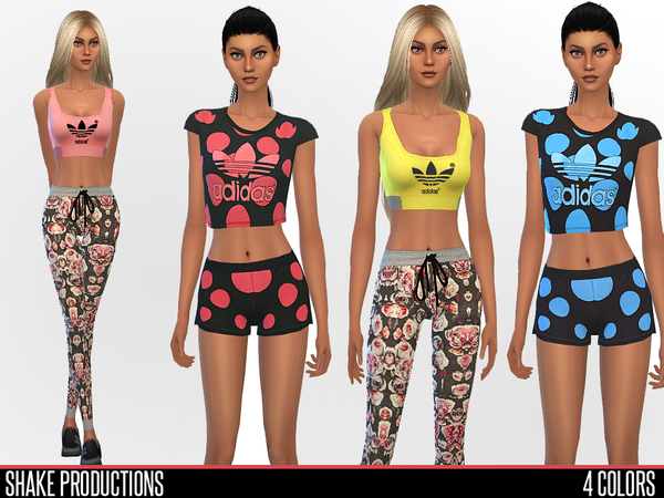 Sport set by ShakeProductions at TSR image 14103 Sims 4 Updates