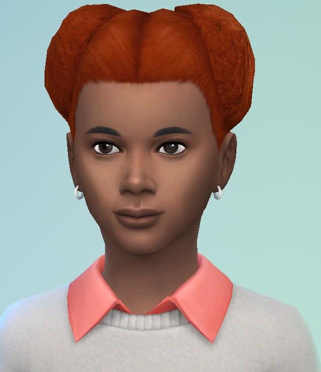 Sims 4 Mini PuffBall hair at Birksches Sims Blog