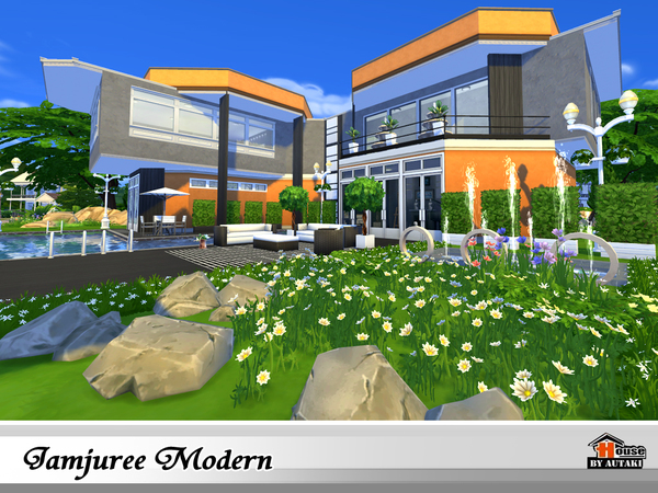 Jamjuree Modern by autaki at TSR image 1426 Sims 4 Updates
