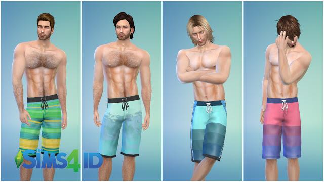 Boardshorts Dolphin By David Veiga at The Sims 4 ID image 1438 Sims 4 Updates