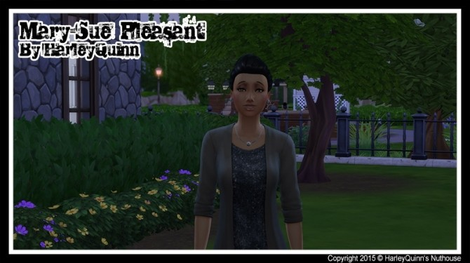 Sims 4 The Pleasants Home and Family at Harley Quinn's Nuthouse