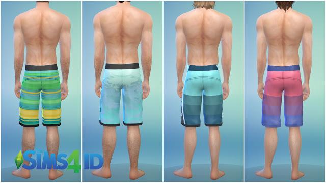 Boardshorts Dolphin By David Veiga at The Sims 4 ID image 1447 Sims 4 Updates