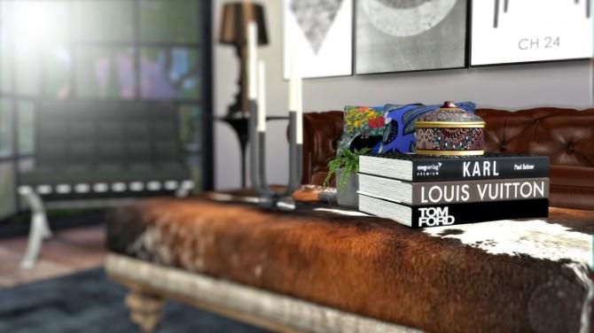 Sims 4 City living room interior at Hvikis