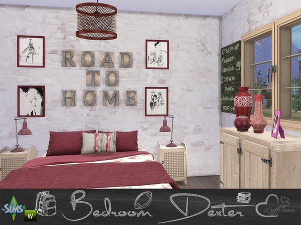 Bedroom Dexter by BuffSumm at TSR image 1468 Sims 4 Updates