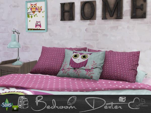 Bedroom Dexter by BuffSumm at TSR image 1487 Sims 4 Updates