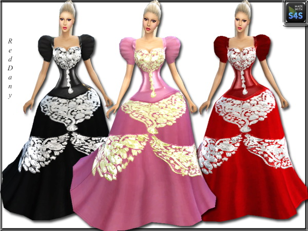 Sims 4 Fable Dress at Dany's Blog