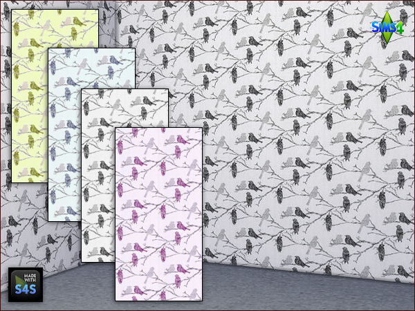 colors for the bedroom 4 wall sets by mabra at arte della vita 187 sims 4 updates 14914