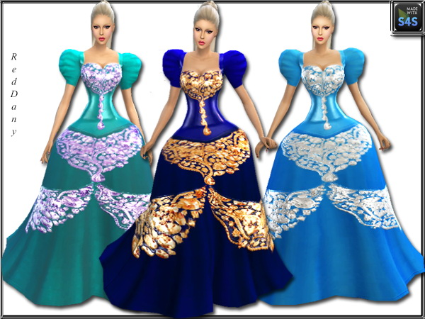 Fable Dress at Dany's Blog image 15012 Sims 4 Updates