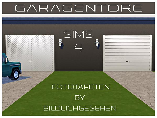 garage door updates garage door wallpapers by bildlichgesehen at akisima sims 4 updates