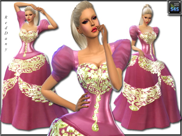 Fable Dress at Dany's Blog image 15118 Sims 4 Updates