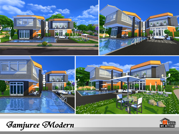 Jamjuree Modern by autaki at TSR image 1520 Sims 4 Updates