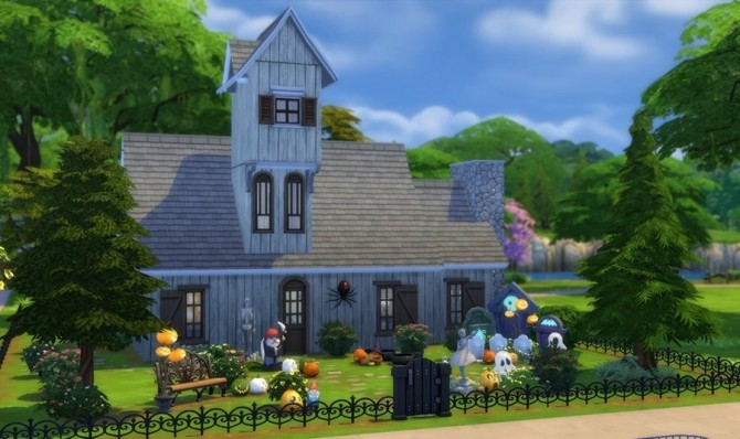 Halloween witch house by Bloup at Sims Artists image 15315 670x398 Sims 4 Updates