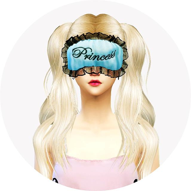 Female Sleep Eye Mask At Marigold 187 Sims 4 Updates