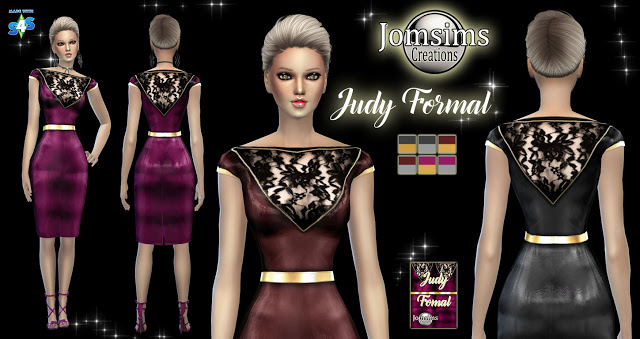 Sims 4 JUDY Collection at Jomsims Creations