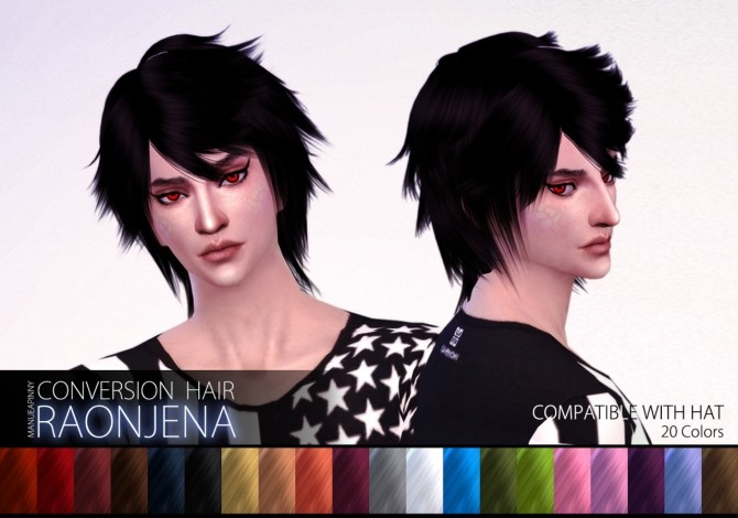 Raonjena Male Hair 25 At Manuea Pinny 187 Sims 4 Updates