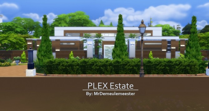 PLEX Estate by MrDemeulemeester at Mod The Sims image 1598 670x358 Sims 4 Updates