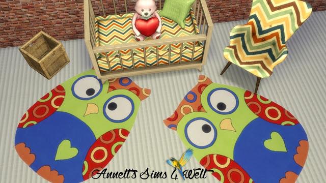 Sims 4 Kids Rugs Part 3 at Annett's Sims 4 Welt