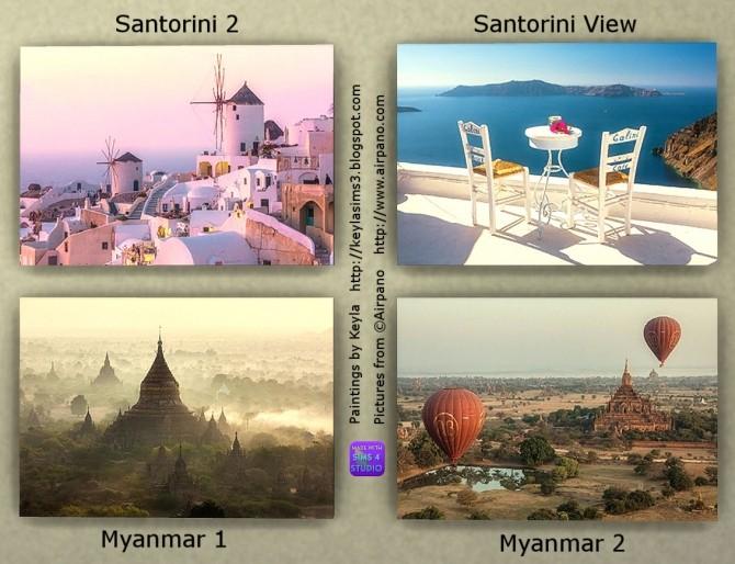 Airpano paintings at Keyla Sims image 1607 670x514 Sims 4 Updates