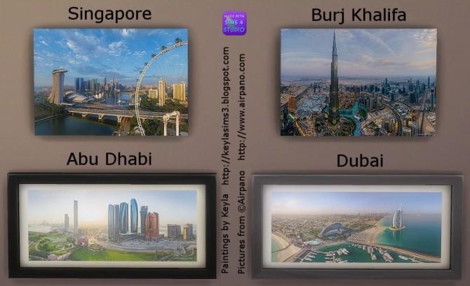 Airpano paintings at Keyla Sims image 16113 670x409 Sims 4 Updates