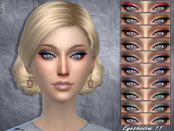 Sims 4 Eyeshadow 11 by Sintiklia at TSR
