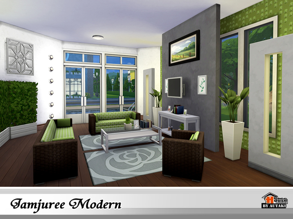 Jamjuree Modern by autaki at TSR image 1620 Sims 4 Updates