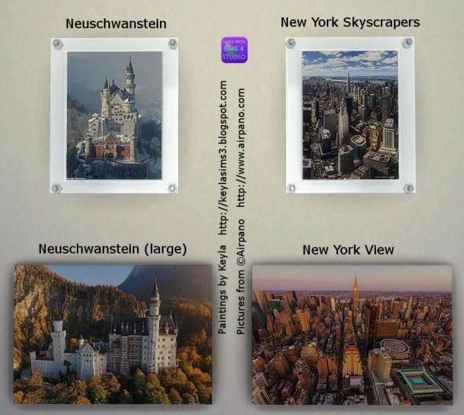 Airpano paintings at Keyla Sims image 16210 670x600 Sims 4 Updates