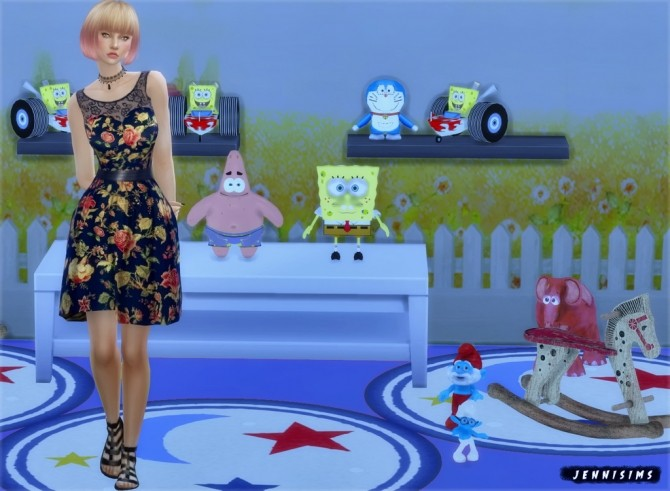 Sims 4 Decoration for kids Vol5 at Jenni Sims