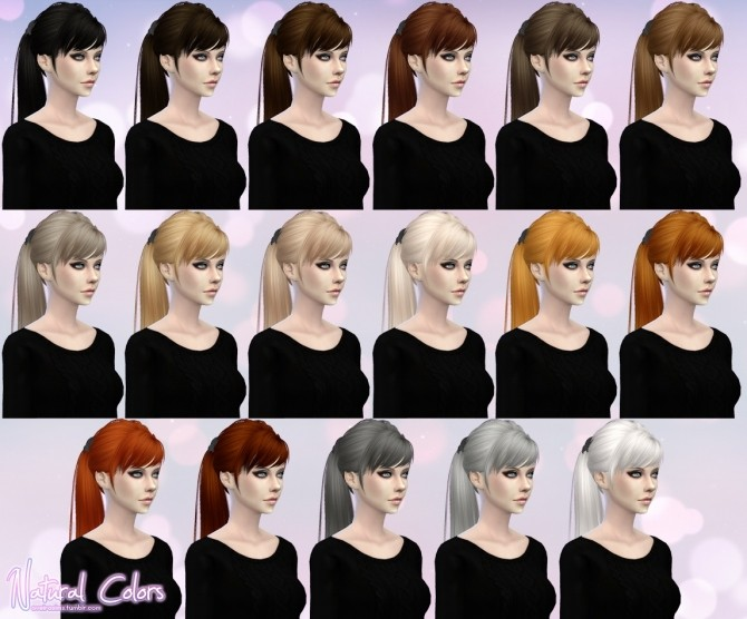 Skysims Hair 115 Retexture at Aveira Sims 4 image 16813 670x556 Sims 4 Updates