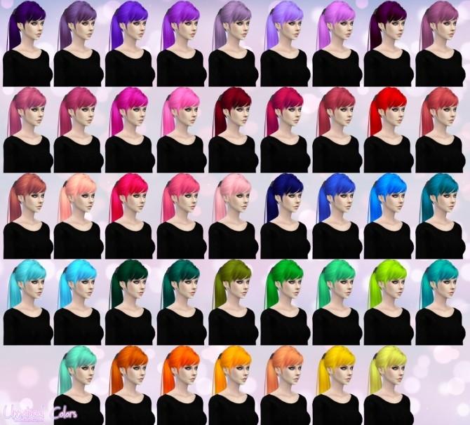 Skysims Hair 115 Retexture at Aveira Sims 4 image 16911 670x606 Sims 4 Updates