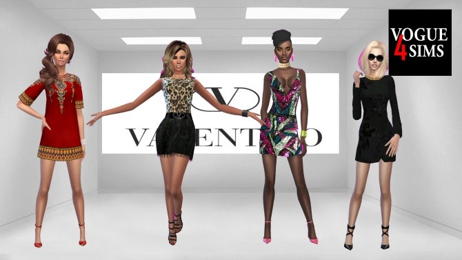 Fashion sets (PAY) at Vogue4Sims image 17114 670x377 Sims 4 Updates