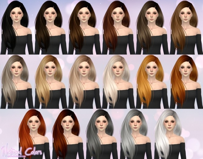 Skysims Hair 274 retexture at Aveira Sims 4 image 17119 670x525 Sims 4 Updates