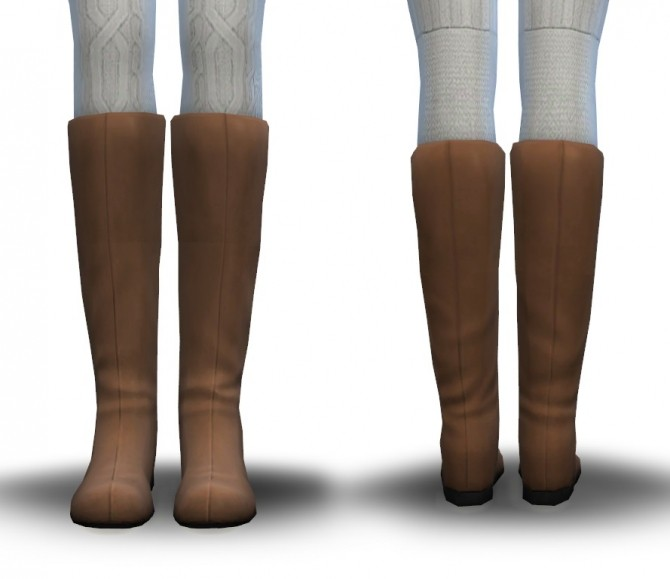 Sims 4 Less Piratey EAs Boots De Cuffed at Pickypikachu