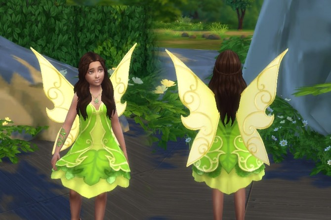 Fairy Dress For Girls At My Stuff 187 Sims 4 Updates