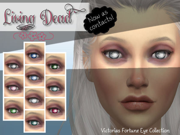 Living Dead Contact Collection by fortunecookie1 at TSR image 1750 Sims 4 Updates