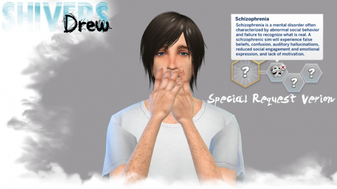 Custom Cas Trait Schizophrenia At Drew Shivers 187 Sims 4