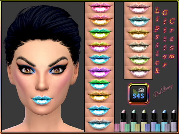 Lipstick and Eyeshadow at Dany's Blog image 1754 Sims 4 Updates