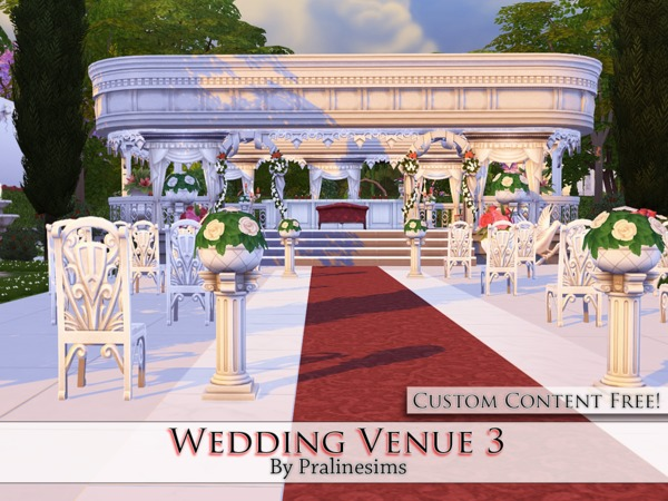 Wedding Venue 3 By Pralinesims At Tsr Sims 4 Updates