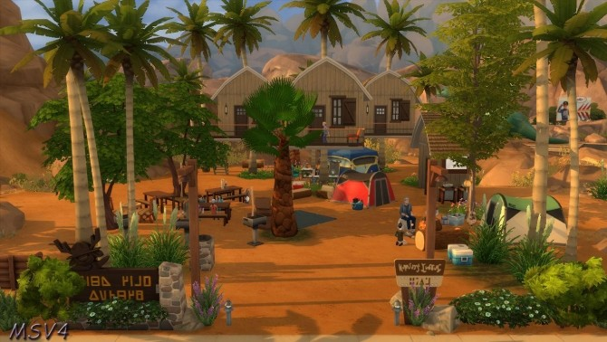 Multiple houses at Manine Sim Vallee image 17913 670x378 Sims 4 Updates